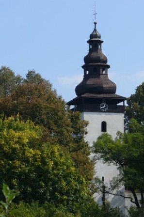 Domaniža Kostol